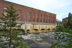 Hydro power plant in Imatra Stock Images