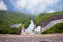 Hydro power plants. Stock Images