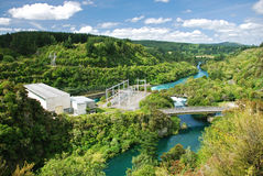 Hydro powerplant Stock Images
