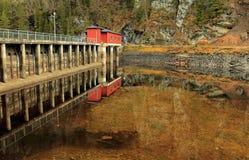 The hydro powerplant Stock Photography
