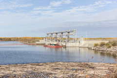 Hydro station Stock Images