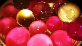 Hydro stelnar pärlor eller hydrobubblor Royaltyfria Foton