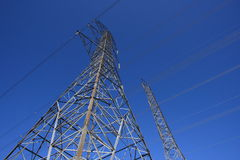 Hydro Towers Stock Photography