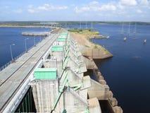 Hydroanlage des Stroms stockfoto