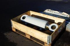 Hydrocylinder Lizenzfreie Stockfotos
