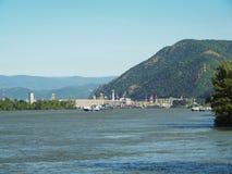 Free Hydroelectric Barrage. Iron Gates 1 Power Plant In Orsova, Romania. Stock Photo - 220484300