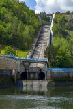 Hydroelectric dam in the Czech Republic Royalty Free Stock Images