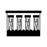 Hydroelectric dam isolated icon. Illustration design Royalty Free Stock Image