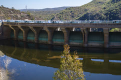 Hydroelectric Dam Royalty Free Stock Photos