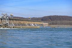 Hydroelectric Dam Power Station stock photography