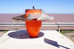 Hydroelectric dam turbine propeller stock images