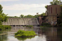 Hydroelectric dam Stock Photography