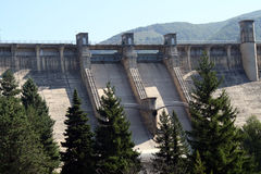 Hydroelectric dams. Stock Photography
