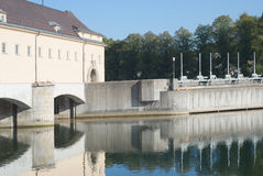 Hydroelectric Generation Royalty Free Stock Photo