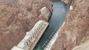Hydroelectric Generators on the border of nevada and arizona , black canyon Stock Photography