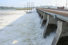 Hydroelectric Stock Photo