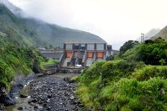 Hydroelectric plant of Banos de Agua Santa, Ecuador Royalty Free Stock Photo