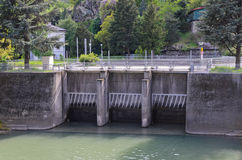 Hydroelectric plant Royalty Free Stock Image