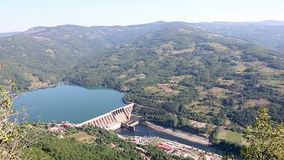hydroelectric plant power απόθεμα βίντεο