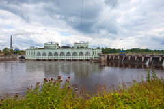HYDROELECTRIC POWER Royalty Free Stock Photo