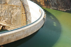 Hydroelectric power dam Stock Photography