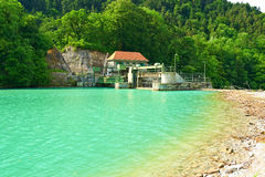 Hydroelectric power plant. In Germany Stock Photo