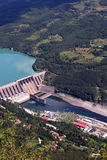 Hydroelectric power plant Royalty Free Stock Photography