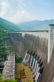Hydroelectric power production of  Bhumibol dam Stock Photos