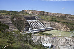 Hydroelectric power station royalty free stock photography