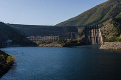 Hydroelectric power station. In Altınkaya Dam Royalty Free Stock Photography