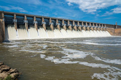 Hydroelectric Power Station or dam Stock Image