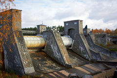 Hydroelectric power station in Imatra Royalty Free Stock Photo