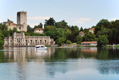 Hydroelectric power station in Italy Royalty Free Stock Photography