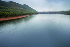 Hydroelectric Power Station Stock Photography