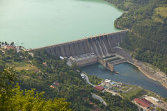 Hydroelectric Power Station, Perucac Dam Royalty Free Stock Photography
