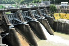 Hydroelectric power station Royalty Free Stock Photo
