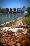 Hydroelectric power station Royalty Free Stock Image