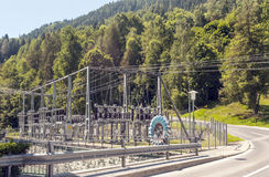 Hydroelectric power station Stock Images
