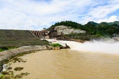 Hydroelectric powerplant Stock Photos
