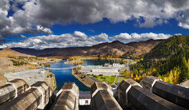 Hydroelectric station Stock Photos