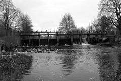 Hydroelektrische centrale Stock Fotografie