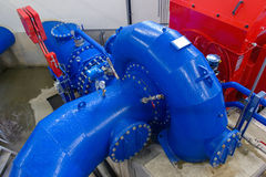 Hydroelektrische centrale Stock Afbeeldingen