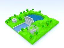Hydroelektrische Energie Stockfotos