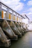 Hydroelektrische gepumpte Lagerung Stockfoto