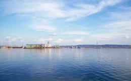 hydroelektrische Station Lizenzfreie Stockfotografie