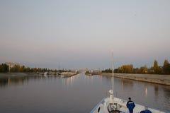 Hydroelektrische Station Saratows Lizenzfreie Stockfotos