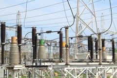 Hydroelektrische Triebwerkanlage Stockbilder