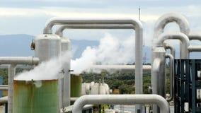 Hydroelektrische Triebwerkanlage stock video