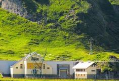 Hydroelektrische Triebwerkanlage Lizenzfreie Stockfotos