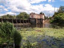 Hydroelektrischer Fluch Stockfotografie